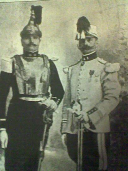 Maxime et Robert d'André.