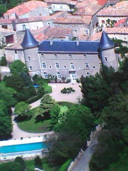 Le château d'André à Aubussargues
