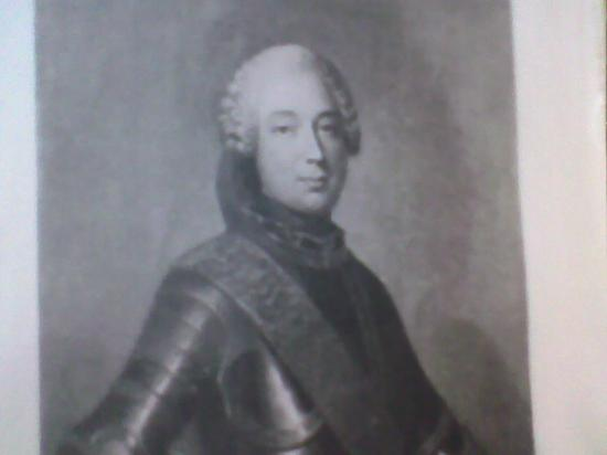 Le marquis de Valfons, vicomte de Sebourg, vers 1780
